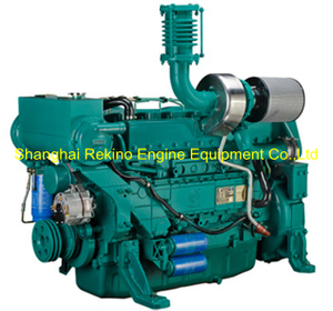 Weichai WP10 stationary pump diesel engine motor 216KW