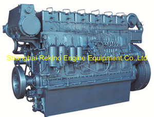 Weichai WHM6160C300-8 marine propulsion diesel engine motor 300HP 850RPM