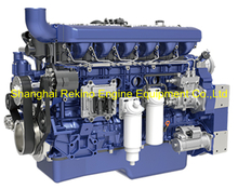 Weichai WP12.375E50 construction diesel engine 375HP 1900RPM for Crane
