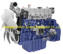 Weichai WP7.300E51 construction diesel engine 300HP 2100RPM for Crane
