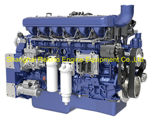 Weichai WP12.460E50 construction diesel engine 460HP 1900RPM for Crane