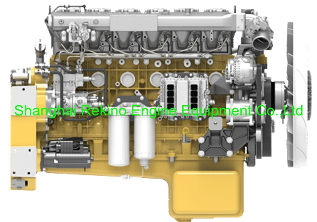 Weichai WP12G265E304 construction diesel engine motor 265HP 1900RPM for bulldozer