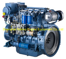 Weichai WP4C120-18 marine boat propulsion diesel engine 120HP 1800RPM