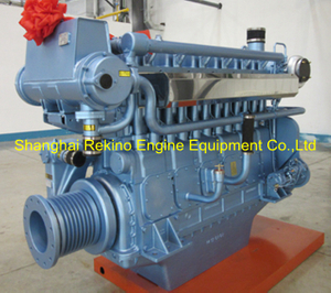 Weichai WHM6160C580-3 marine propulsion diesel engine motor 580HP 1350RPM
