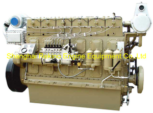 Weichai WHM6160C520-2 marine propulsion diesel engine motor 520HP 1200RPM