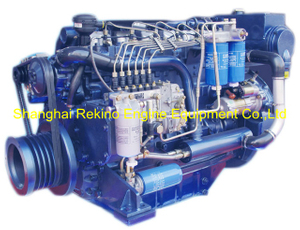 Weichai WP6C163-23 Marine propulsion boat diesel engine 163HP 2300RPM
